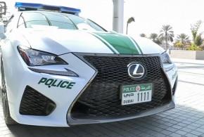Nuevo coche para la flota de la policía de Dubai