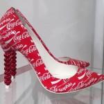 Zapatos edición Coca-Cola