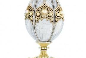 Fabergé Pearl Egg el primer huevo imperial creado en 99 años