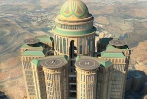 El hotel más grande del mundo se construirá en Arabia Saudí.